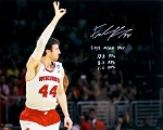 Frank Kaminsky Autographed Wisconsin Badgers 16x20 Photo 2015 POY, 18.8 PPG, 8.2 RPG, 1.5 BPG