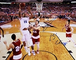 Jahlil Okafor Autographed Duke 2015 NCAA Title Game 16x20 Photo Inscribed 15 Champs