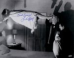 Linda Blair Auographed Exorcist Regan Floating 16x20 Photo Inscribed Sweet Dreams