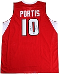 Bobby Portis Autographed Arkansas Custom Jersey Inscribed 2015 SEC POY