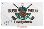 Cindy Morgan Autographed Bushwood Golf Flag Inscribed Lacey Underall