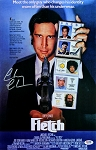 Chevy Chase Autographed Fletch 11x17 Mini Movie Poster