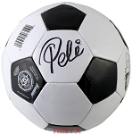 Pele Autographed Franklin Soccer Ball