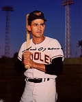 Luis Aparicio Autographed Baltimore Orioles 8x10 Photo