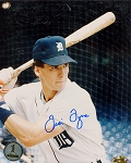 Travis Fryman Autographed Detroit Tigers Batting 8x10 Photo