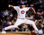 Carlos Marmol Autographed Chicago Cubs 8x10 Photo