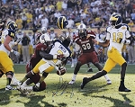 Jadeveon Clowney Autographed South Carolina Gamecocks 'Hit' 16x20 Photo