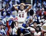 Michael Young Autographed Houston Cougars 8x10 Photo Inscribed Phi Slama Jama