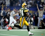 Andre Rison Autographed Green Bay Packers 16x20 Photo Inscribed SB XXXI Champs