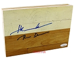 Hakeem Olajuwon Autographed Authentic Summit Floor Piece Inscribed The Dream