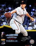 Ty Blach Autographed San Francisco Giants 8x10 Photo