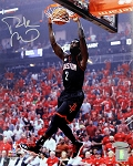 Patrick Beverley Autographed Houston Rockets Black Jersey 8x10 Photo