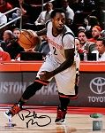 Patrick Beverley Autographed Houston Rockets Gray Jersey 8x10 Photo