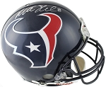 Matt Schaub Autographed Houston Texans Authentic Helmet