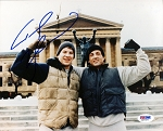 Tommy Morrison Autographed 'Rocky V' 8x10 Photo with Stallone