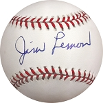 Jim Lemon Autographed American League Baseball