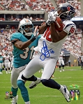 Lestar Jean Autographed Houston Texans 8x10 Photo