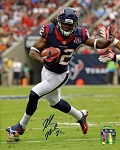 Keshawn Martin Autographed Houston Texans 8x10 Photo