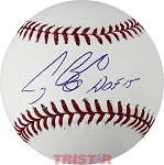 Craig Biggio Autographed Major League Baseball Inscribed HOF 15