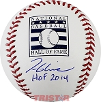 Tom Glavine Autographed Hall of Fame Baseball Inscribed HOF 2014