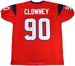 Jadeveon Clowney Autographed Houston Texans Red Custom Jersey