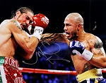 Miguel Cotto Autographed Boxing vs Margarito 11x14 Photo