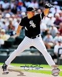 Jake Peavy Autographed Chicago White Sox 8x10 Photo