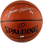 Dominique Wilkins Autographed Spalding I/O NBA Basketball