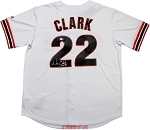 Will Clark Autographed San Francisco Giants Jersey