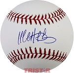 Matt Duffy Autographed Major League Baseball