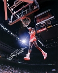 Dominique Wilkins Autographed Atlanta Hawks 16x20 Photo