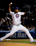 Pedro Strop Autographed Chicago Cubs 16x20 Photo