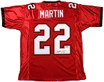 Doug Martin Autographed Tampa Bay Buccaneers Jersey