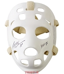 Gerry Cheevers Autographed Goalie Mask Inscribed HOF 85
