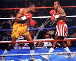Sugar Ray Leonard & Tommy Hearns Autographed Boxing 16x20 Photo