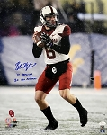Baker Mayfield Autographed Oklahoma Sooners 16x20 Photo Inscribed 17 Heisman