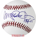 Ryne Sandberg Autographed Major League Baseball Inscribed HOF 05