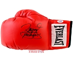 Manny Pacquiao Autographed Red Everlast Boxing Glove