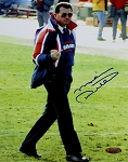 Mike Ditka Autographed Chicago Bears Shooting Finger 8x10 Photo