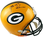 Aaron Rodgers Autographed Green Bay Packers Full Size Helmet Inscribed SB XLV MVP