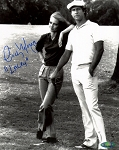 Cindy Morgan Autographed Caddyshack Standing on Course 8x10 Photo Inscribed Lacey