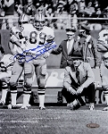 Mike Ditka Autographed Dallas Cowboys 8x10 Photo