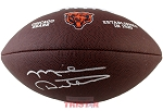 Mike Ditka Autographed Chicago Bears Logo Football