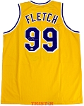 Chevy Chase Autographed Fletch Lakers Custom Jersey