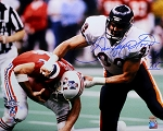 Dan Hampton Autographed Chicago Bears Super Bowl XX 16x20 Photo
