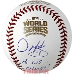 Dave Martinez Autographed 2016 World Series Baseball Inscribed WS Champs