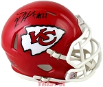 Kareem Hunt Autographed Kansas City Chiefs Mini Helmet