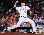 Ken Giles Autographed Houston Astros 2017 World Series 8x10 Photo