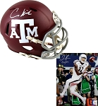 Christian Kirk & Josh Reynolds Autographed Texas A&M Aggies Mini Helmet & 8x10 Photo Combo