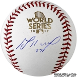 Jose Altuve Autographed 2017 World Series Baseball